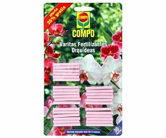 Compo Abono en varitas Orquídeas 30 Unidades