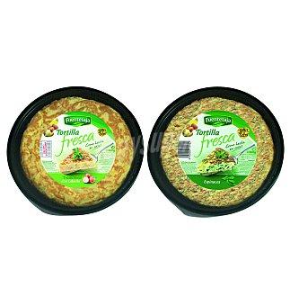 Fuentetaja Tortilla fresca espinacas 300 G