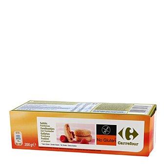 Carrefour Galletas de frambuesa 200 g