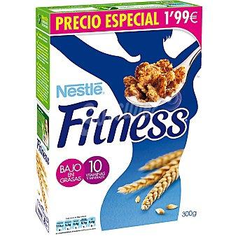 Nestlé Fitness cereales de desayuno bajo en grasas con 10 vitaminas y minerales  estuche 300 g