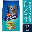 Pienso para gatos mix a base de pescado 1,5 kg Brekkies Affinity