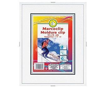 Productos Económicos Alcampo Marco con cierre clip 10x15 centímetros 1 Unidad