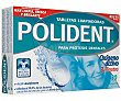 Tabletas para limpiar prótesis dentales 30 tabletas Polident