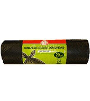 Carrefour Bolsa basura eco planet 30 L 20 bolsas