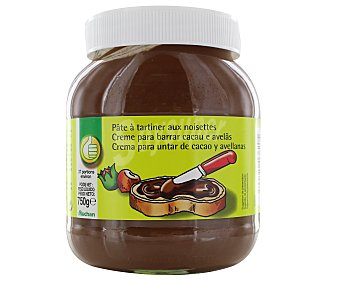 Productos Económicos Alcampo Crema para untar de cacao y avellanas 750 gramos