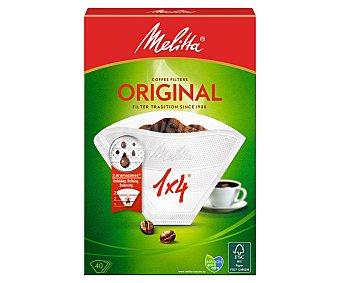 Melitta Filtro cafetera 1X4 40 Unidades