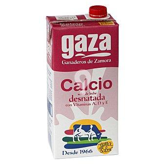 leche desnatada con calcio
