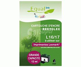 Equalink Cartuchos Reciclados de Tinta L16/17 Negro 1u