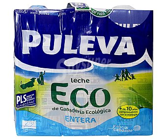 Puleva Leche Ecológica Entera Pack 6x1 litro