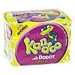 Toallitas WC para niños de +3 años Pack de 120 unidades Kandoo Dodot