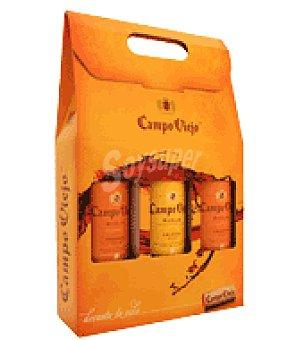 Campo Viejo Estuche de Vino D.O. Rioja, 2 reservas + 1 crianza Pack de 3x75 cl