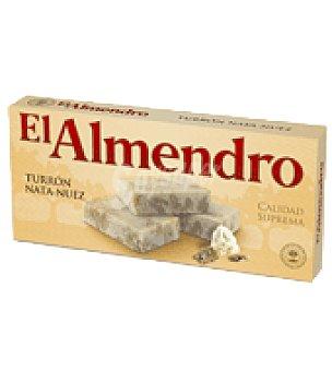 El Almendro Turrón de nata y nuez 300 g