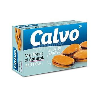 Calvo Mejillones al natural Lata 69 g (peso neto escurrido)