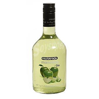 Frutaysol Licor de manzana verde sin alcohol Botella 75 cl