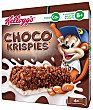 Choco Krispies: Barritas de arroz tostado con chocolate y leche  Pack de 6x20g Choco Krispies Kellogg's