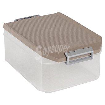TATAY Caja Multiusos con tapa marrón 4,5 l 4,5 l