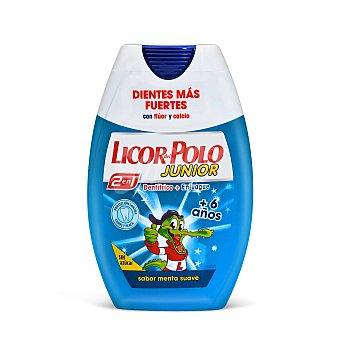 Licor del Polo Junior pasta dentífrica 2 en 1 menta bote 75 ml