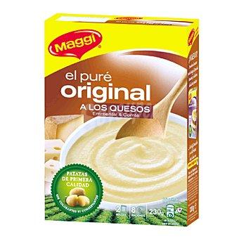 Maggi Pure de patata 2 quesos Caja 230 g