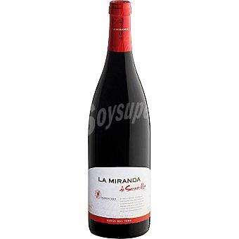 LA MIRANDA DE SECASTILLA Vino tinto D.O. Somontano Botella 75 cl
