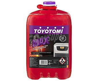 Toyotomi Combustible líquido para estufas portátiles toyotomi Max, , combustible para estufas de petróleo, apto para estufas de todas las marcas, sin olor Garrafa de 20 litros