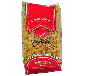 La Isleña Conchas grandes, pasta de sémola de trigo duro de calidad superior 500 Gramos