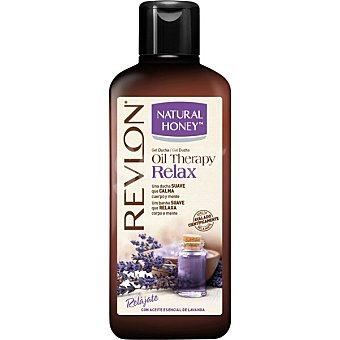 Natural Honey Gel de baño Oil Therapy Relax con aceite esencial de lavanda Bote 650 ml