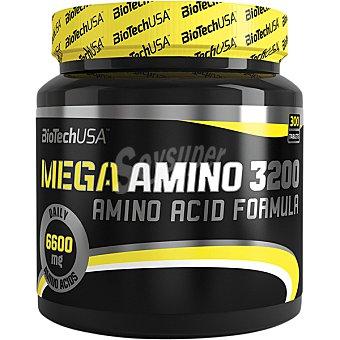 Biotech usa Mega Amino 3200 aminoácidos para atletas bote 300 tabletas