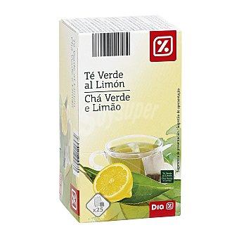 DIA Té verde al limón caja 25 ud