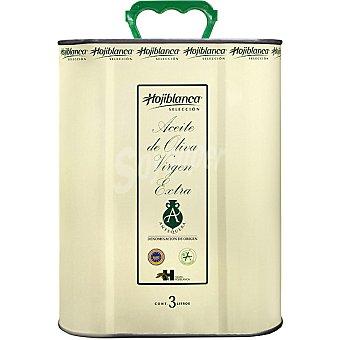 Hojiblanca aceite de oliva virgen extra D.O. Antequera  lata 3 l