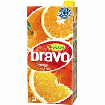 Bravo Néctar austriaco de naranja Brik 2 litros