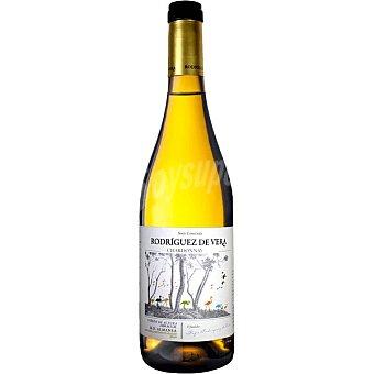 Rodriguez Vino blanco chardonnay fermentado en barrica DO Almansa DE vera Botella 75 cl