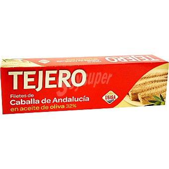 Tejero Filetes de caballa de Andalucía en aceite de oliva neto escurrido Pack 2 latas 78 g