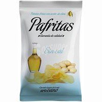 Pafritas Patatas fritas con aceite de oliva sin sal Bolsa 140 g
