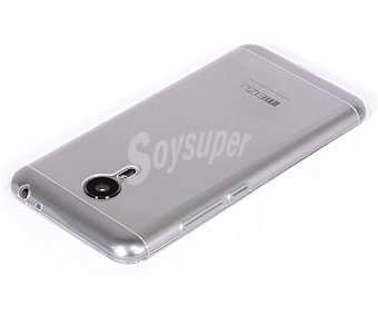 Meizu Carcasa trasera meizu, transparente, compatible con smartphone MX5
