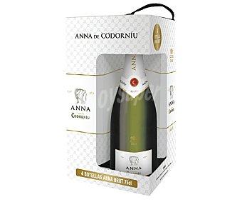 Anna de Codorníu Cava brut Pack de 4 botellas de 75 centilitros