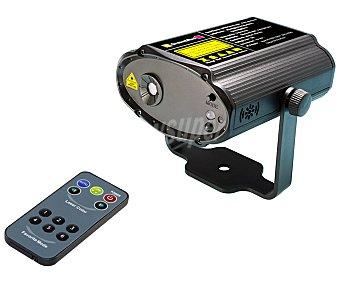 Actuel Proyector laser con movimientos rotativos, de varias figuras y con sonido, ACTUEL.