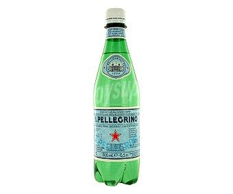 San Pellegrino Agua mineral natural con gas Botella 50 cl
