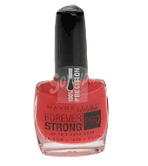 Maybelline New York Laca de uñas forever strong 490 hot salsa 1 ud
