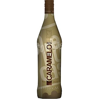 AREHUCAS licor ron caramelo botella 70 cl
