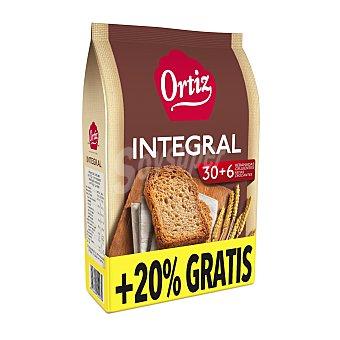 Ortiz Pan tostado integral Paquete 270 g