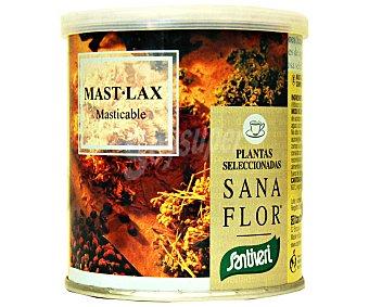 Santiveri Mast.lax, mezcla de plantas masticable de efectivo efecto laxante indicado en casos de estreñimiento 75 gramos