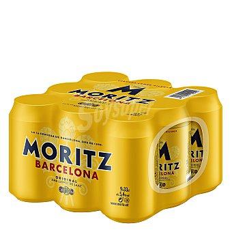 Moritz Cerveza Pack 8x33 cl