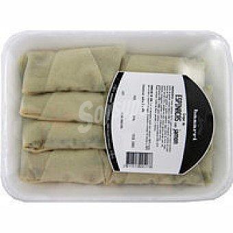 Basarri Crepes de espinaca-jamón 500 gramos