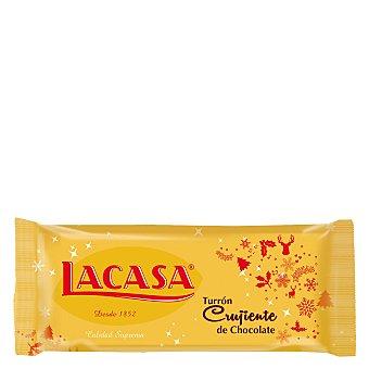 Lacasa Turrón crujiente de chocolate 250 g