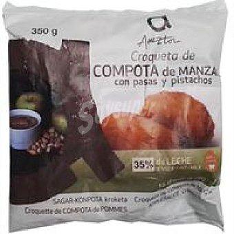 Ameztoi Croqueta de compota de manzana Bandeja 350 g
