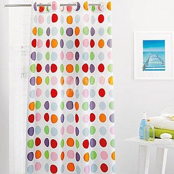 CASACTUAL Carmen cortina de baño multicolor
