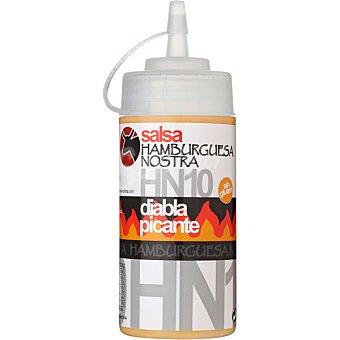 HAMBURGUESA NOSTRA Salsa HN-10 mahonesa con una diabola salsa picante Envase 250 g