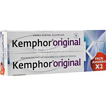Kemphor Pasta de dientes fluorada Pack 2 tubo 75 ml