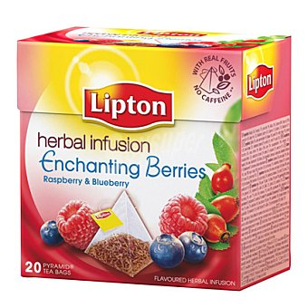 Lipton Infusión de Frutas del Bosque sin cafeína 20 ud