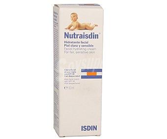 NUTRAISDIN Crema hidratante facial con FP 30 50 mililitros